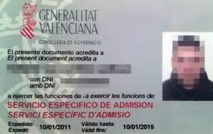 servicio especifico de admision de valencia